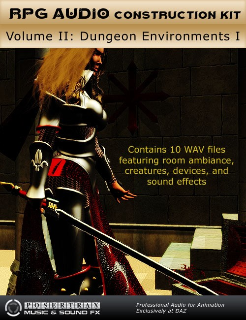 RPG Audio Construction Kit Volume II Dungeon Environments I