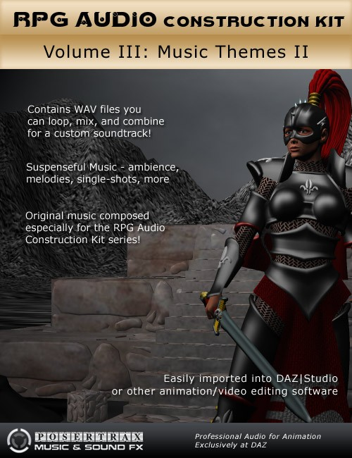 RPG Audio Construction Kit Volume III Music Themes II