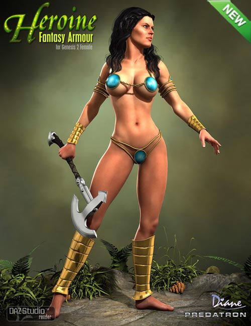 Heroine Fantasy Armour
