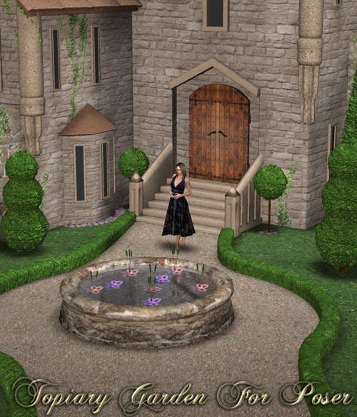 Topiary Garden for Poser