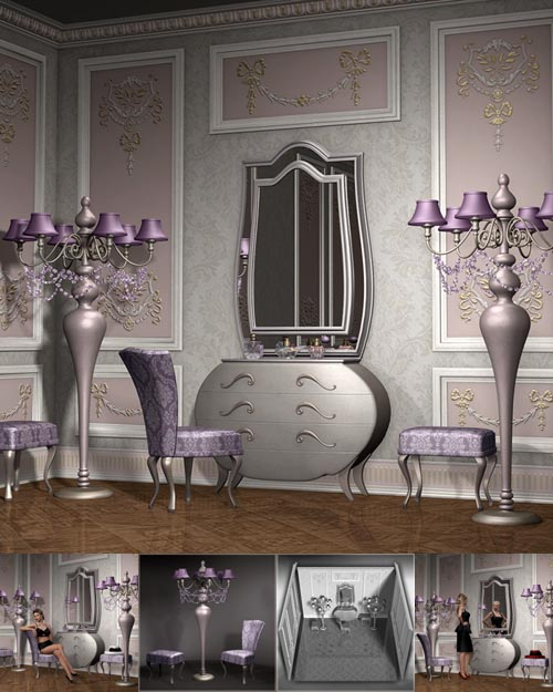 Lilac Blossom - Vanity Corner