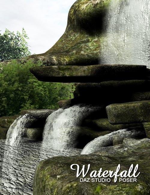 Waterfall by adamthwaites