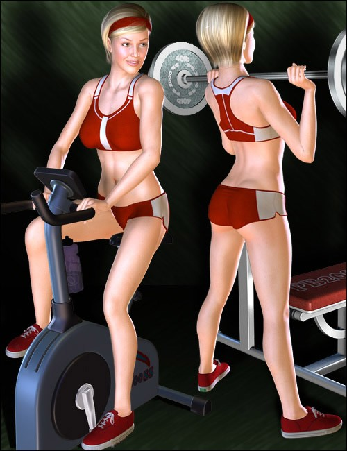 V4 Exercise Equipment Poses