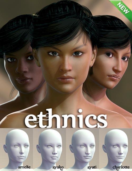 Ethnics for Genesis 2 Female(s)