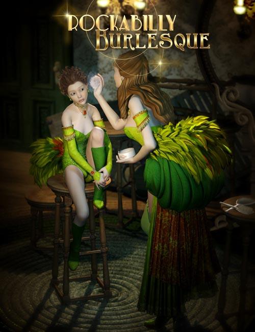 Rockabilly Burlesque for V4
