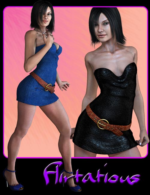 Flirtatious Party Dress for GND V4