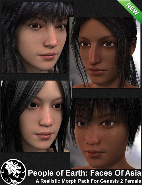People of Earth: Faces of Asia