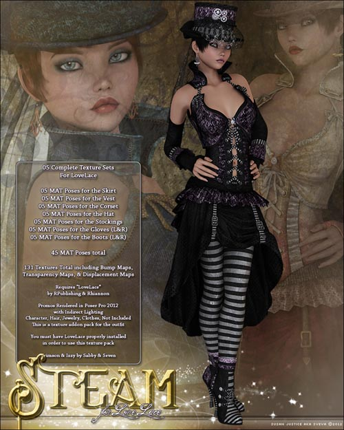 Steam for LoveLace