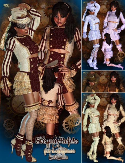 Steamy Bride - Lolita Rose