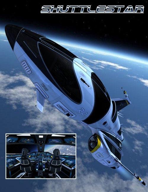 Shuttlestar + Bonus Textures