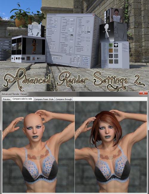 Advanced Render Settings 2
