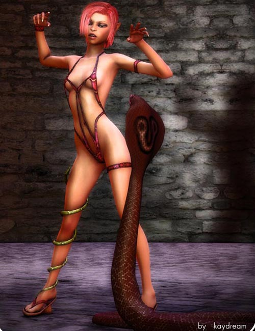 Nyoka serpent outfit