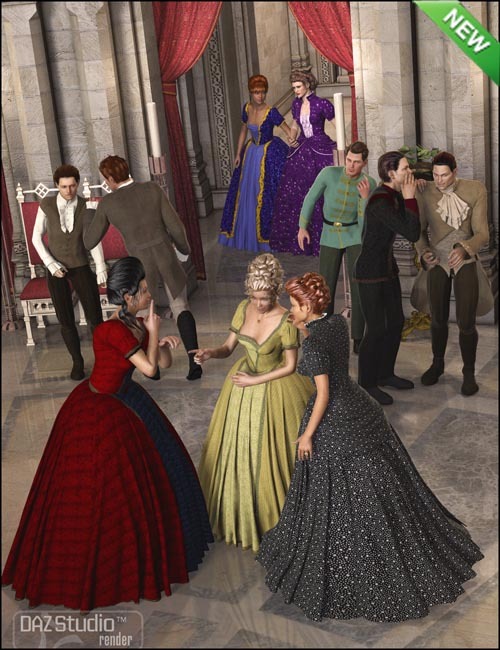 Courtly Intrigue Poses