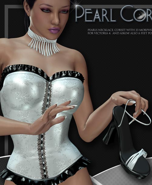 Lilflame's Pearl Corset