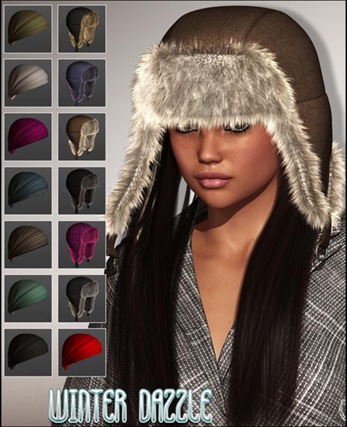 WINTER DAZZLE Caps & Hair Kit