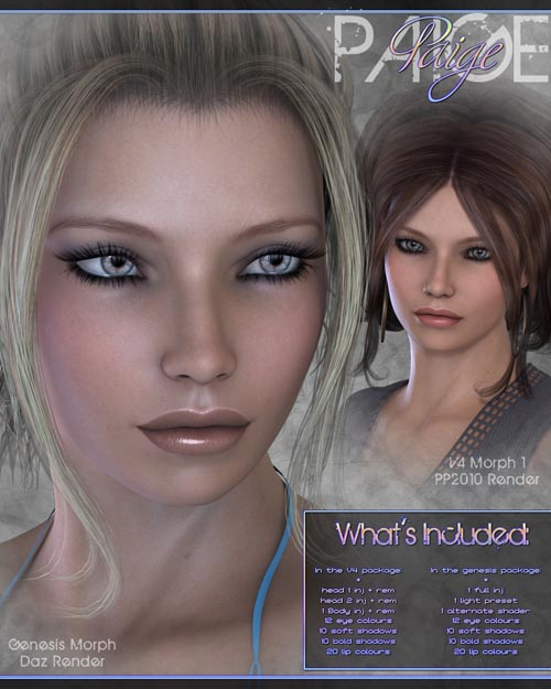 Sabby-Paige for V4 and Genesis