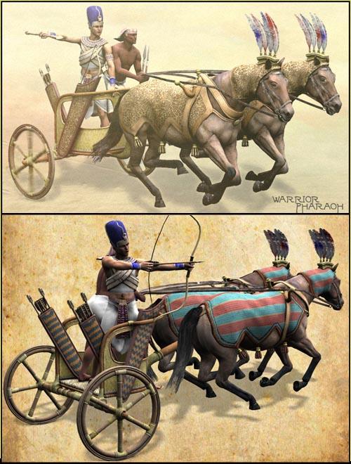 Warrior Pharaoh pack