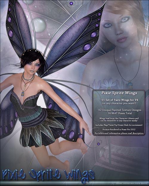 Pixie Sprite Wings
