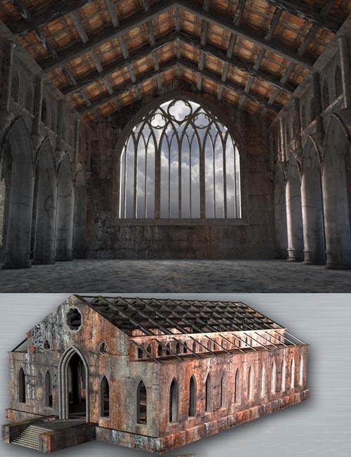 AJ Abandoned Church