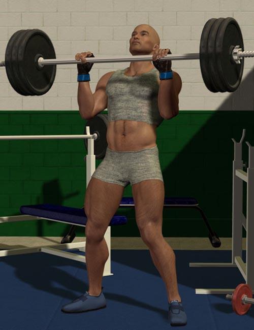 M4 Weight Lifter Set