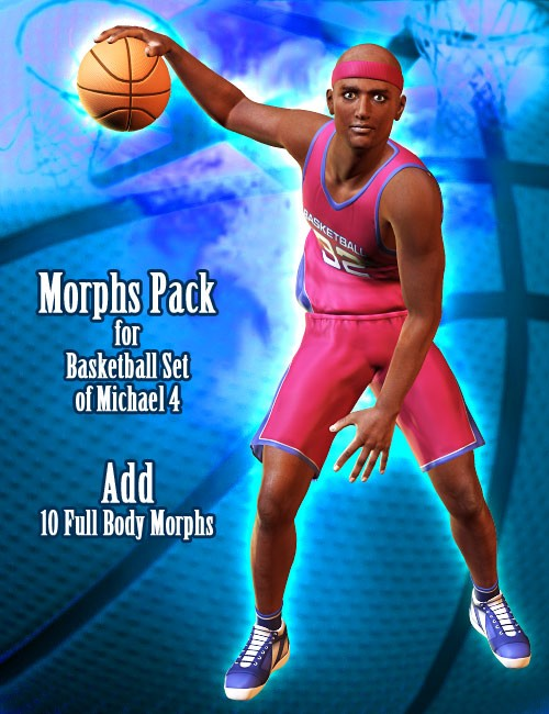 Morphs Pack for Basketball Set M4