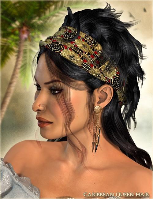 Caribbean Queen Hair