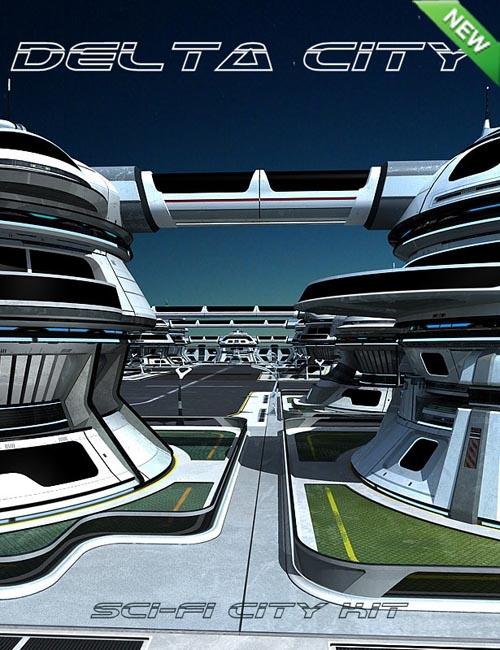 Sci-fi City Kit: Delta City