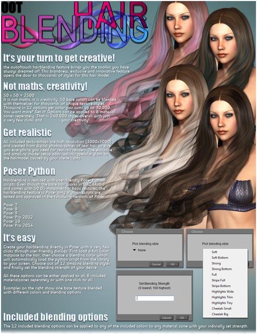 Ocean Wave Hair + OOT Hairblending