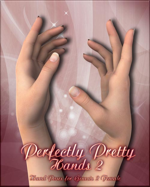 Perfectly Pretty Hands 2 for Genesis and G2F