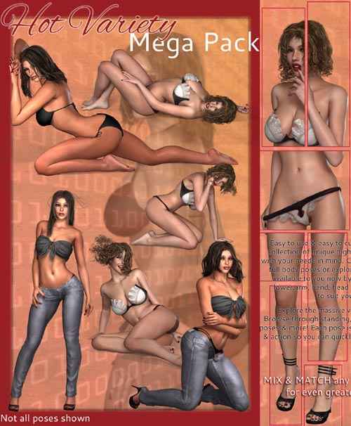 i13 HOT VARIETY MEGA PACK