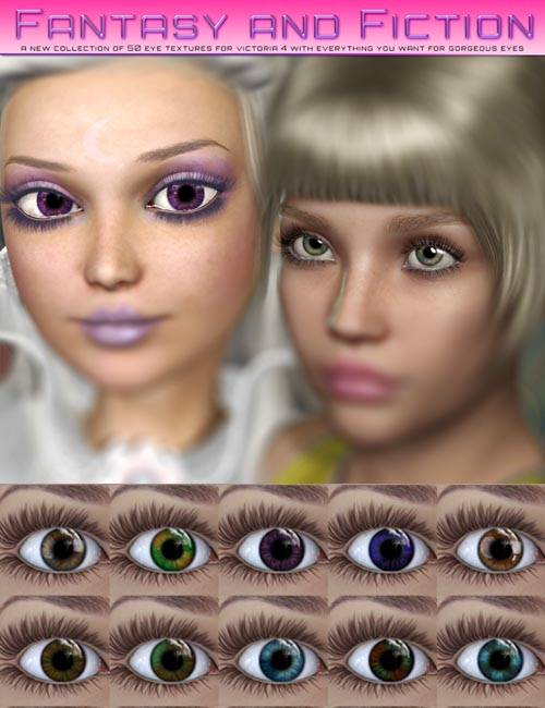 i13-hlm Fantasy and Fiction Eyes