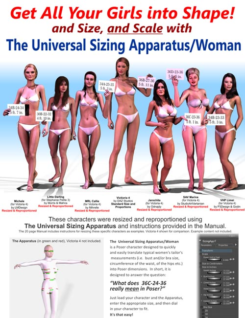 Universal Sizing Apparatus/Woman