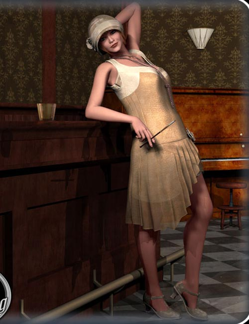 [Update] Flapper Dancer Dress V4, A4, G4