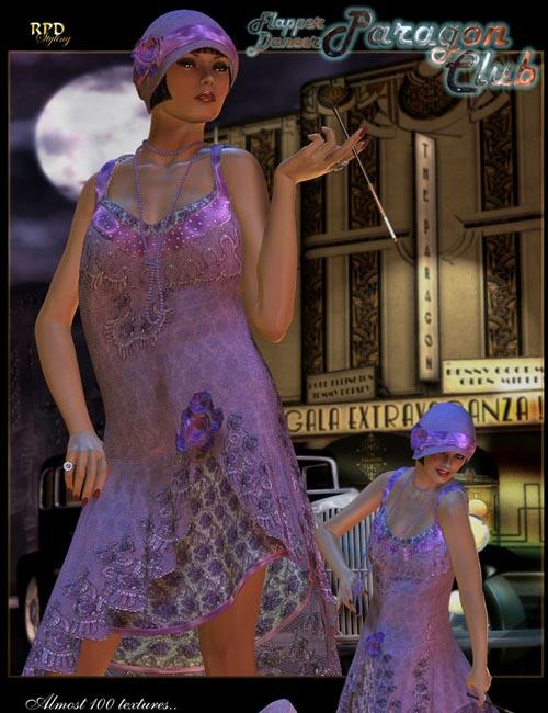 Paragon Club Flapper Dancer