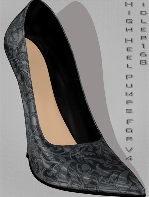 New Styles for High Heel Pumps For V4
