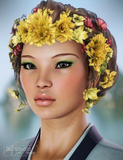 Jade Hair for Genesis