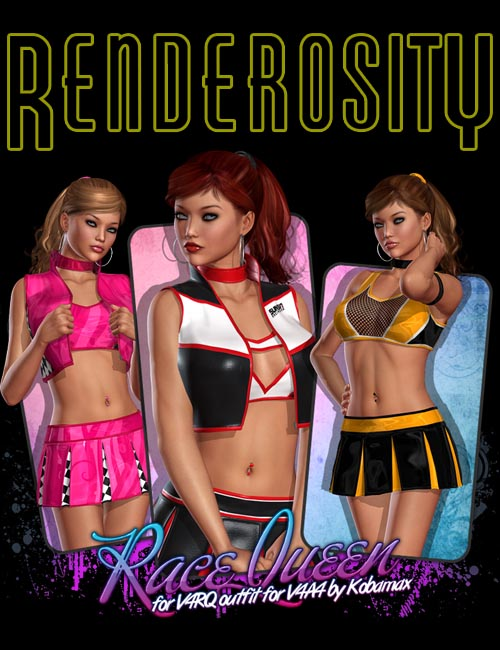 Race Queen for V4RQ outfit V4A4