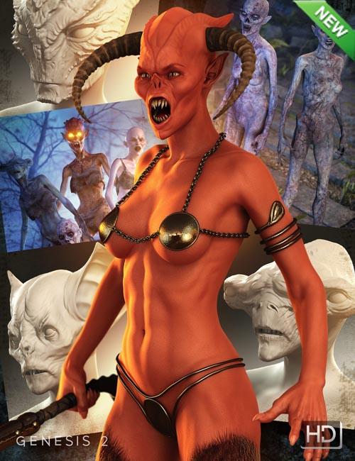 Creature Creator HD for Genesis 2 Female(s)