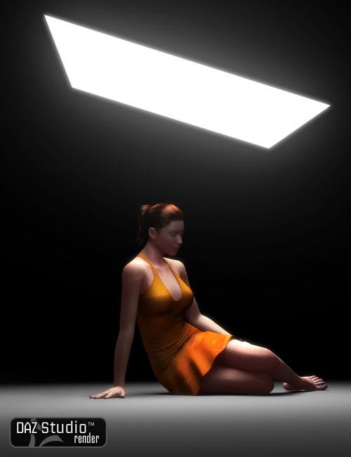 omAreaLight Light Shader for DAZ Studio