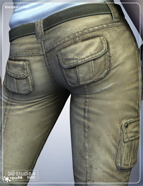 Stalker Girl Pants for Genesis