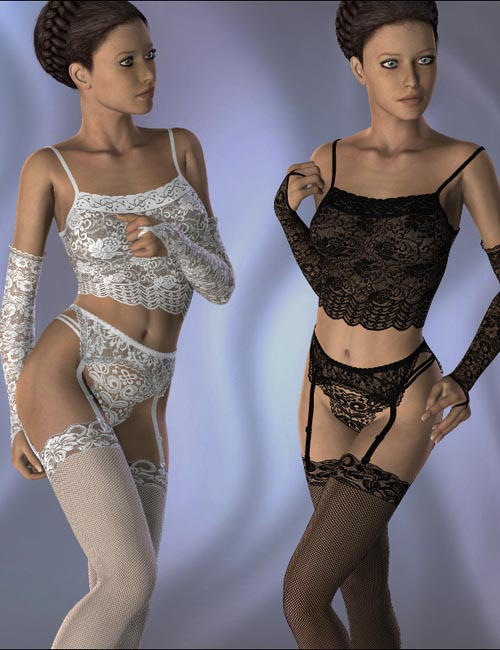 Lace Lingerie Set for V4
