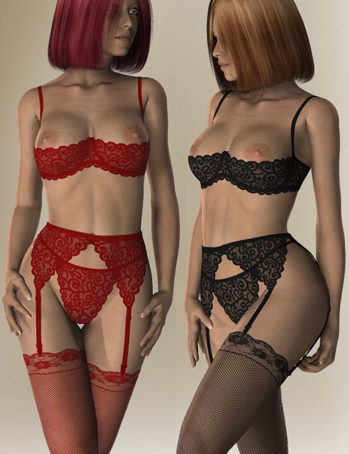 Lace Lingerie Set II for V4