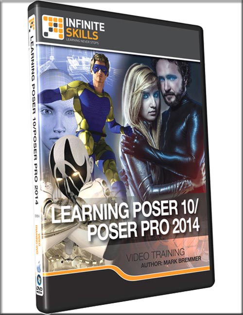 Learning Poser 10 / Poser Pro 2014 Training Video