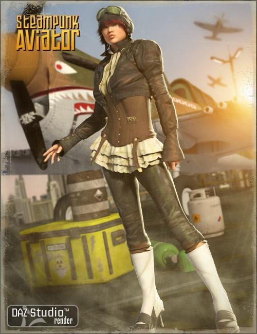 B25 Steam Punk Aviator V4