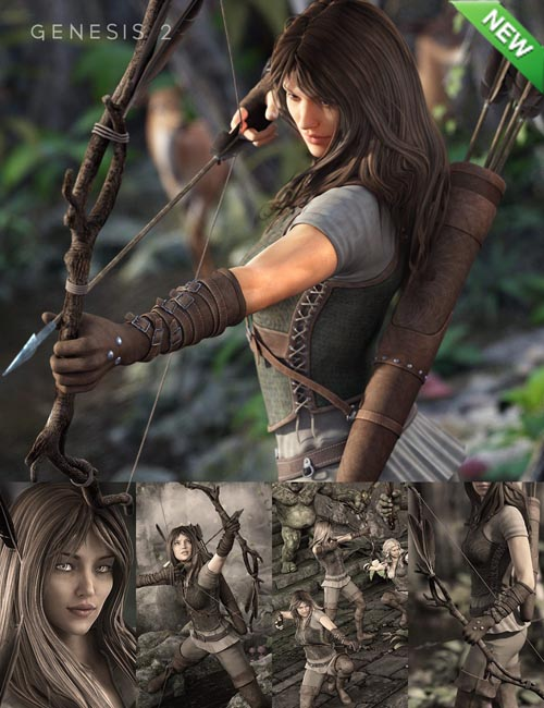 Ranger Bundle for Genesis 2 Female(s)