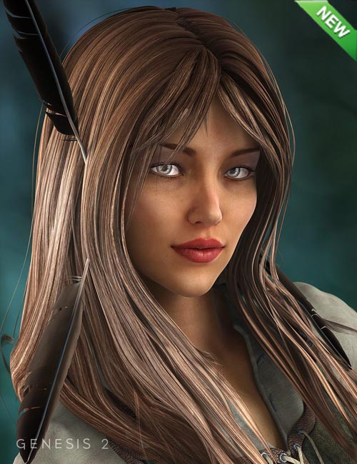 Ranger Hair for Genesis 2 Female(s)