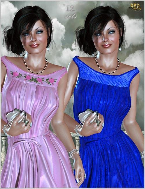 Chiffon Dress - Etherial