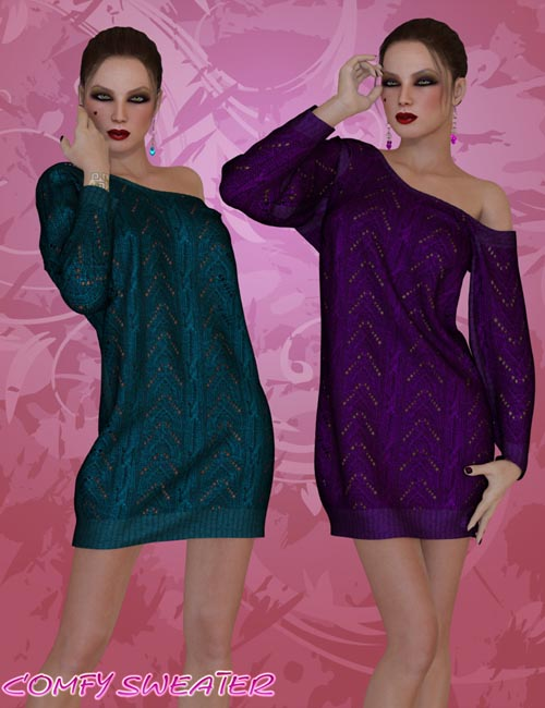 Dynamic Comfy Sweater V4