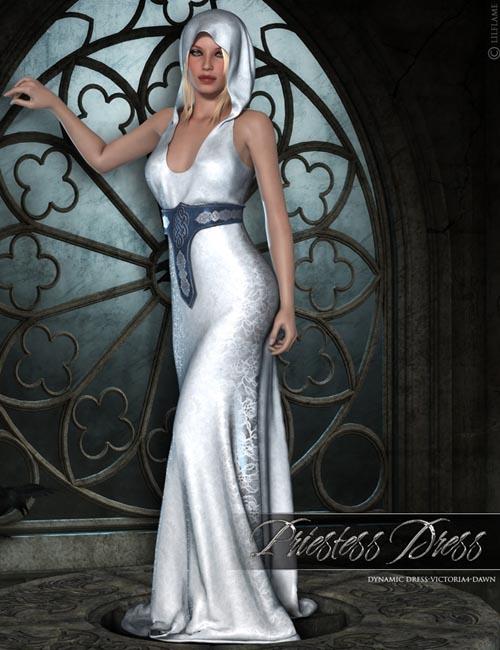 Dynamic Priestess Dress V4/Dawn