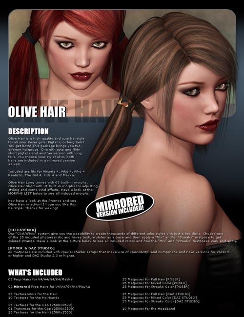 Olive Hair - 2 in 1